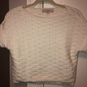 Loft short sweater
